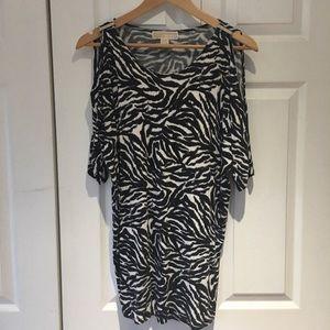 Michael Kors zebra blouse